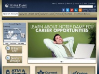 Notre Dame FCU | Welcome to Notre Dame Federal Credit Union