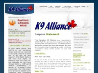 Welcome to K9ALLIANCE.COM
