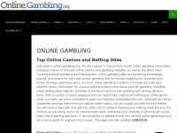 Online Gambling Sites - Top Online Casinos & Betting Sites
