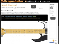 Virtual Guitar Chords and scales