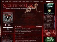 SickthingsUK - THE Unofficial Alice Cooper Site