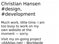 christianhansen.net