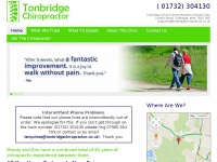 Tonbridgechiropractor.co.uk