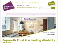 Papworth Trust | Charity supporting disabled and older people