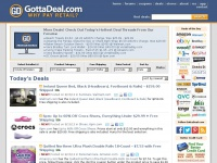 GottaDeal.com - Why Pay Retail? - Hot Deals, Coupons, Forums & More