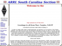 South Carolina ARRL Section Website