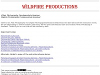 Wildfire Productions - Photography and other references