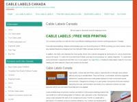 cablelabels.ca Thumbnail