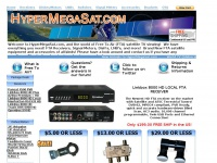Free To Air, FTA Satellite TV Equipment, Sonicview, Viewsat, Openbox Receivers, Switches and LNBs from Hypermegasat.com