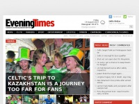 The Evening Times - Scottish news, Celtic, Rangers and other sport plus fashion, showbiz and opinion