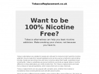 Tobaccoreplacement.co.uk