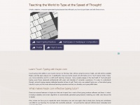 Keybr.com - Teach yourself typing at the speed of thought! Typing lessons that work.