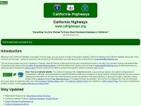 cahighways.org Thumbnail
