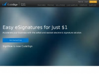 CudaSign |      Safe and Affordable eSignatures for Just $1