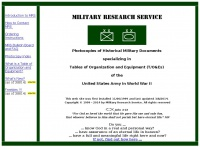 Militaryresearch.org