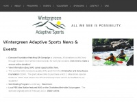 Wintergreen Adaptive Sports: Home