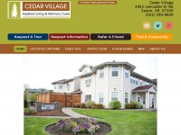 cedarvillageseniorliving.com