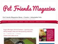Pet Friends Magazine News * Events * Adoptable Pets | This site is the cat's (and dogs) pajamas! © 2015. Pet Friends Magazine. All rights reserved.