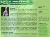 Water-baptism.org