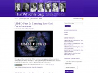 Thatwhichis.org