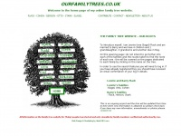 Ourfamilytrees.co.uk