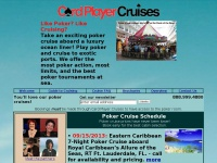 Card Player Cruises, Poker Cruises, Poker Cruise Vacations!