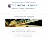 Welcome on board THE GLOBAL RAILWAY for Eurostar Tickets to Paris, Brussels & London and Rail Tours Worldwide...