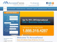 International First & Business Class Airline Tickets & Airfare Deals | AccessFares | AccessFares