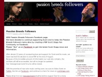 Passion Breeds Followers | The Scott Stapp Fansite
