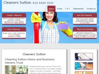 Cleanerssuttoncheshire.co.uk