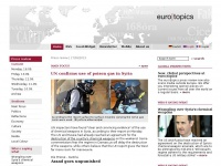 euro|topics - Press review