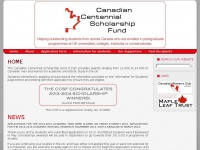 canadianscholarshipfund.co.uk Thumbnail