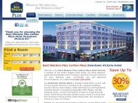 Downtown Victoria Hotel - Victoria Accommodations - Best Western Carlton Plaza