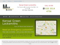 kensal-green-locksmiths.maxlocks.co.uk Thumbnail