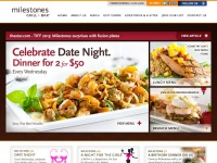milestonesrestaurants.com