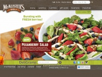 bukahatene.ml is the online home of McAlister's Deli, which serves a range of hot and cold meals, snacks, and drinks, from prime roast beef and Black Forest ham, to vegetarian soups and salads.