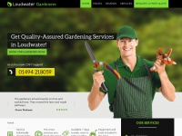 gardeningservicesloudwater.co.uk