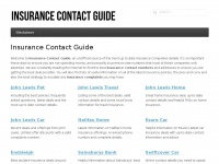 insurancecontactguide.com