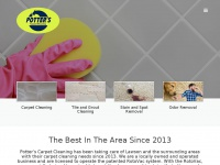 Potterscarpetcleaning.net