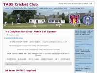 Tabscricketclub.co.uk