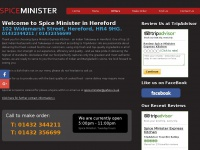 Spiceminister.co.uk