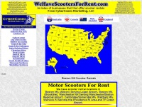 wehavescootersforrent.com