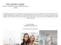 Theperfecttable.ca