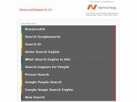 Resourcefulsearch.ch