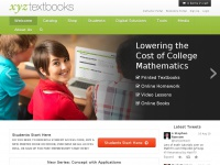 XYZ Textbooks: High quality low cost textbooks