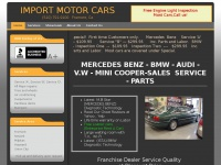 Fremont bmw import motor cars bmw and for Mercedes benz repair fremont ca