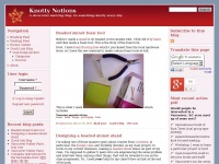 Knotty Notions | A decorative knotting blog.  Do something knotty every day.