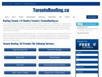 Torontoroofing.ca