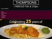 thompsonsfishrestaurants.com