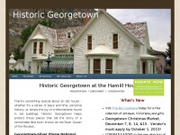 Historic Georgetown at the Hamill House